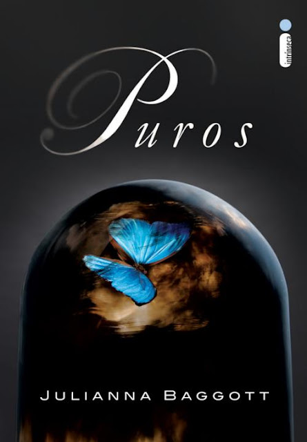"News: Capa do livro ""Puros"", da autora Juliana Baggott. 17"