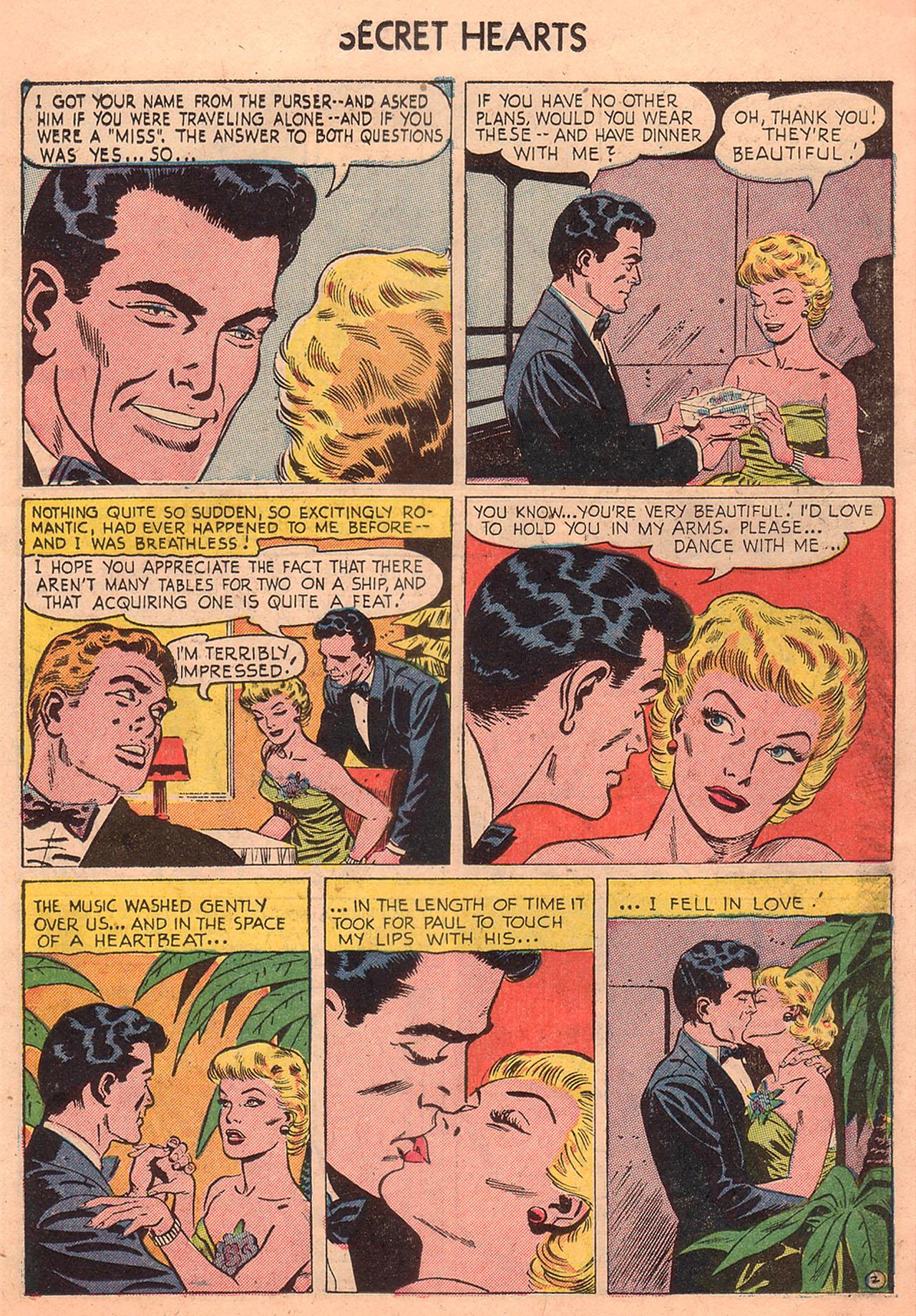Read online Secret Hearts comic -  Issue #23 - 11