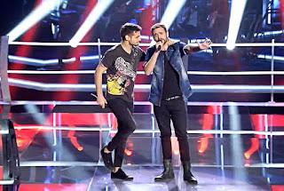 Manuel y Paco batallas la voz equipo alejandro