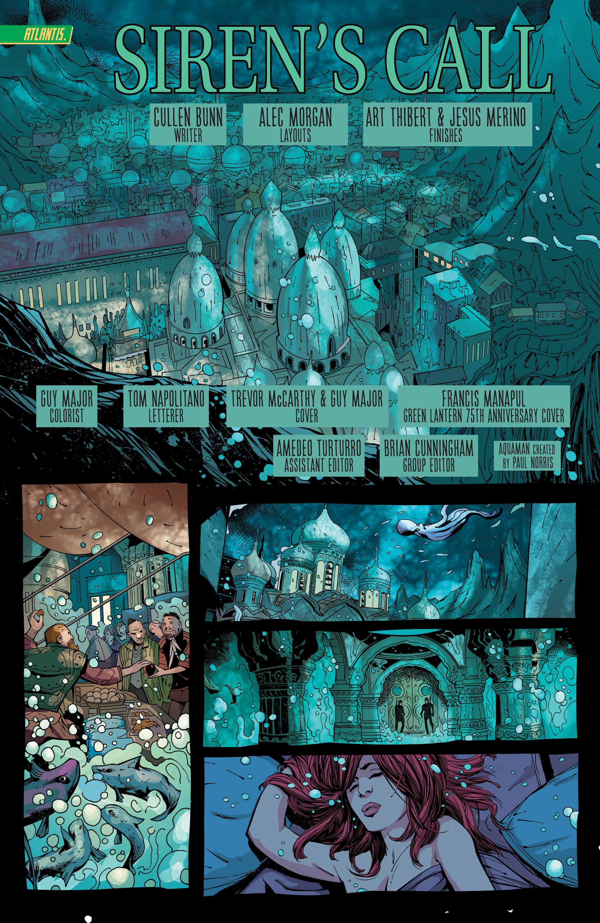 Read online Aquaman (2011) comic -  Issue #44 - 4