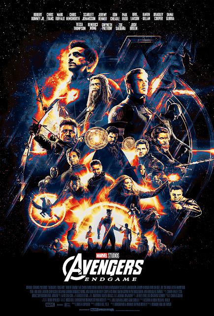 "Avengers ENDGAME poster ""Portals"" HD By Andrew V.M"
