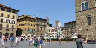 Piazza della Signoria o Plaza de la Señora.