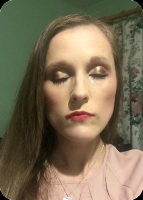 wearing next make me beautiful perfect look eyeshadows