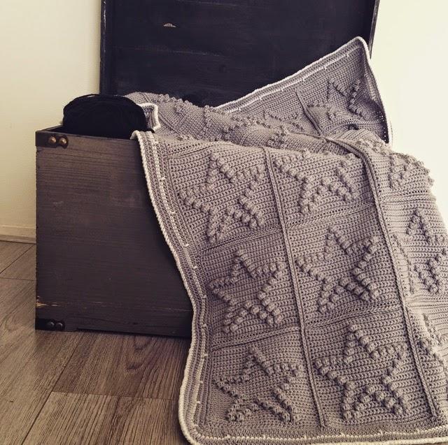 Angels Handmade Bobble Star Blanket Met Patroon
