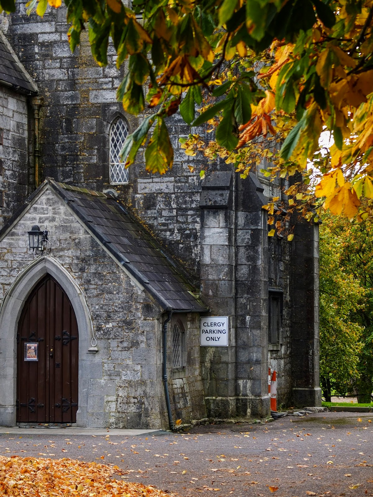 St. James' Church in Mallow, Co.Cork on an autumn day.