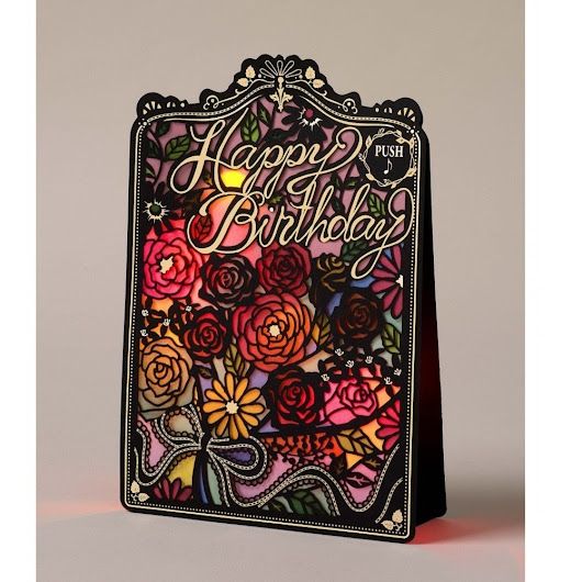 NEW! This magnificent greeting card is promised to inspire memories of birthday magic!