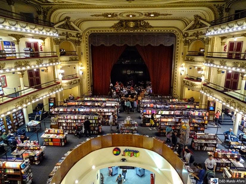 Livraria Ateneo - Roteiro - 5 dias em Buenos Aires, Argentina