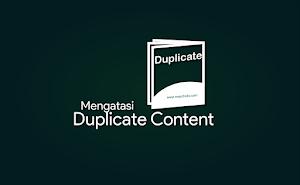 3 Cara Mengatasi Duplicate Content di Blogger