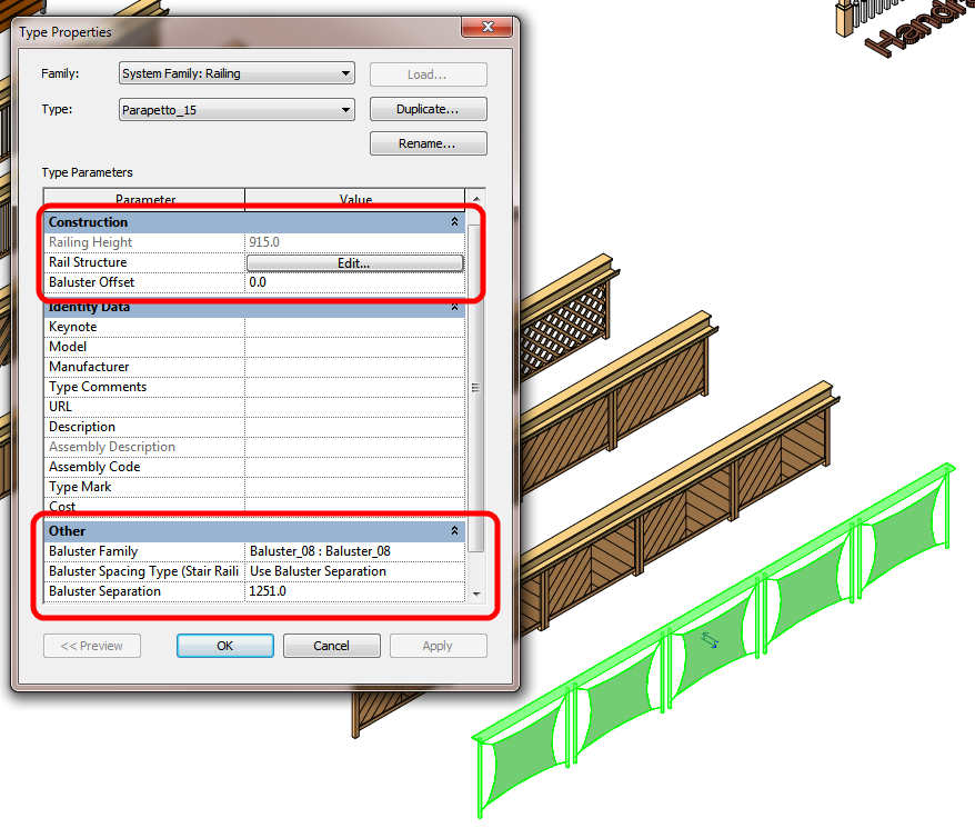 What Revit Wants: Old School Simpler Railings Without