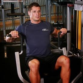 جهاز تدريب عضلات الصدر