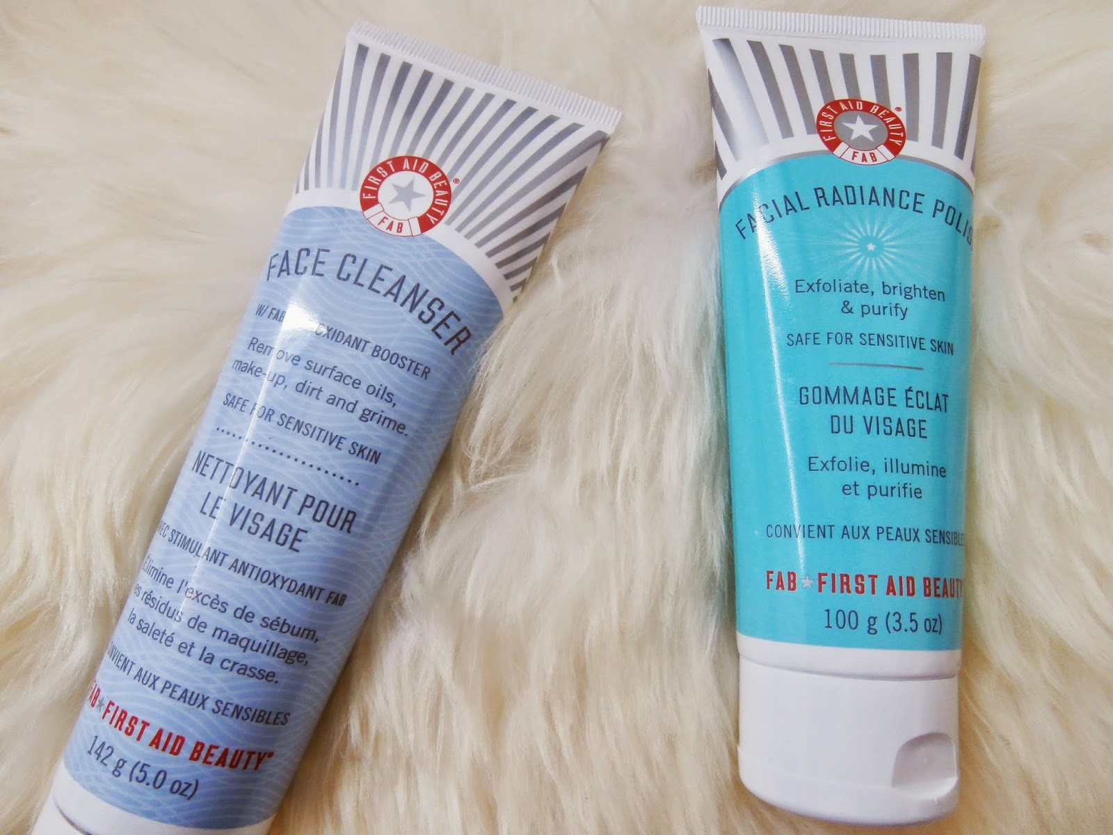Miss Cocoblue First Aid Beauty Face Cleanser Facial Radiance Polish