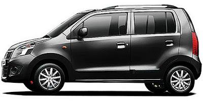 Maruti Suzuki Wagon R Black colour pics