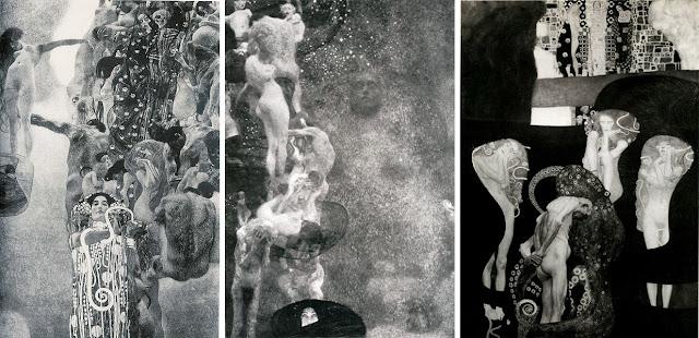 医学 哲学 法学 1894年 クリムト、官能と黄金の画家とは?クリムトの見ておきたい絵画14選【a】