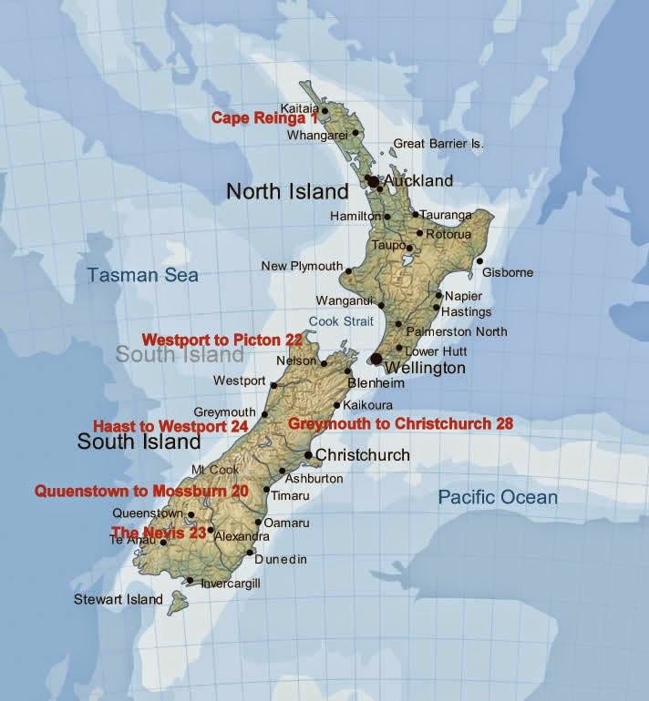 Cycle Touring in New Zealand : Cycle Touring New Zealand