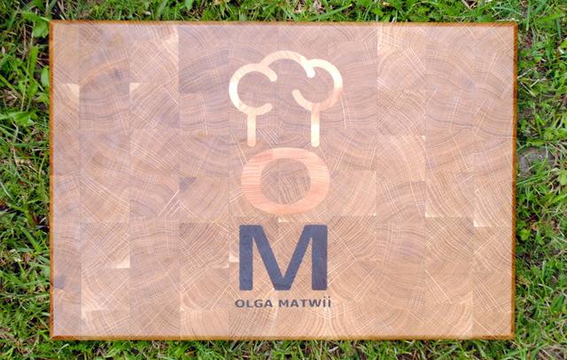 Cutting Board With Logo