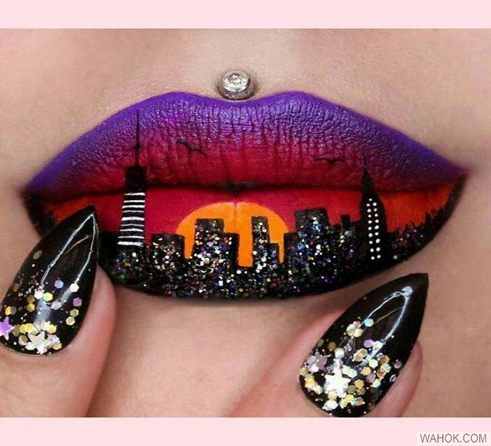 40 Gambar Trend Model Makeup Lipstik Bibir Terbaru Paling Keren Dan Seksi
