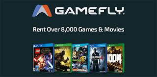 Rent over 8,000 games and movies with Gamefly