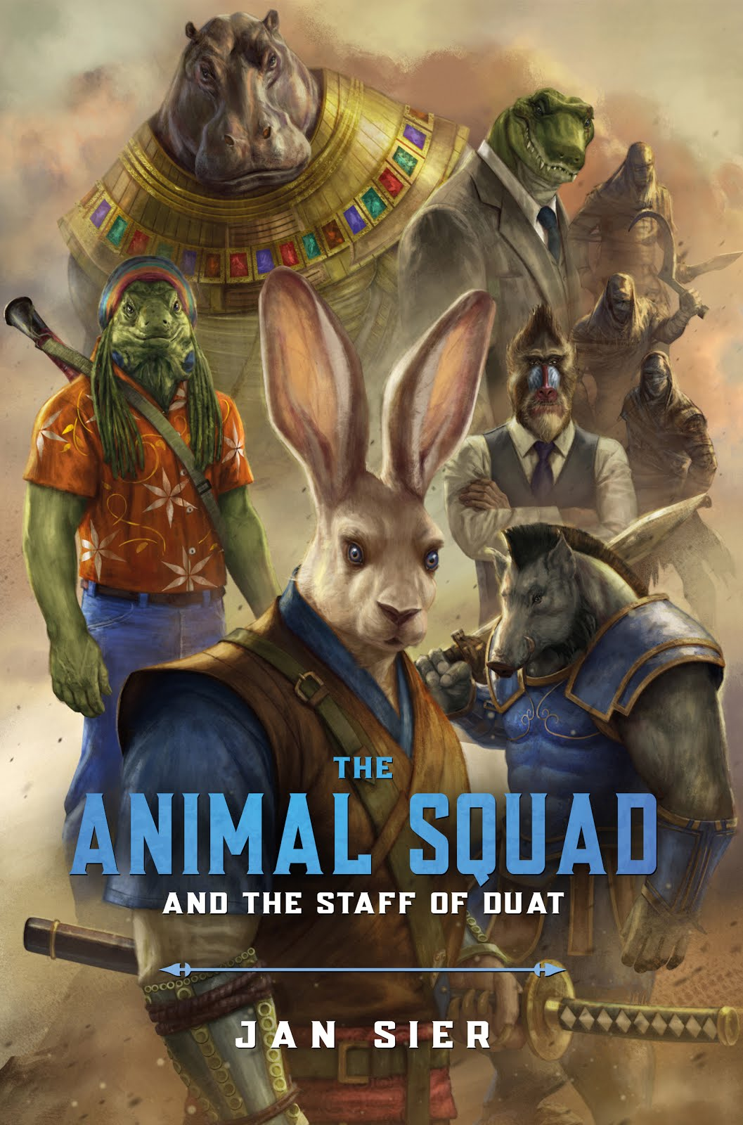The Animal Squad and the Staff of Duat