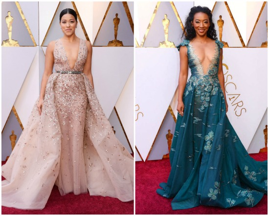 Tinsel & Tine's Choice for Best Red Carpet Look Oscars 2018