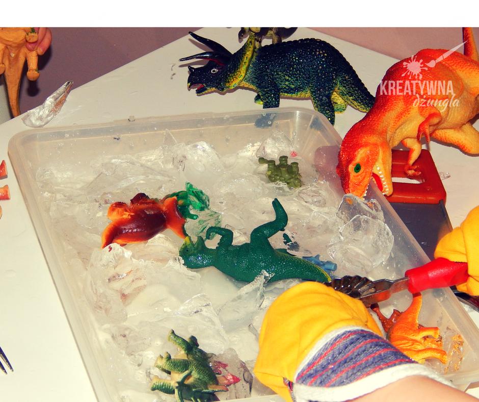 dinozaury zabawa dla dzieci