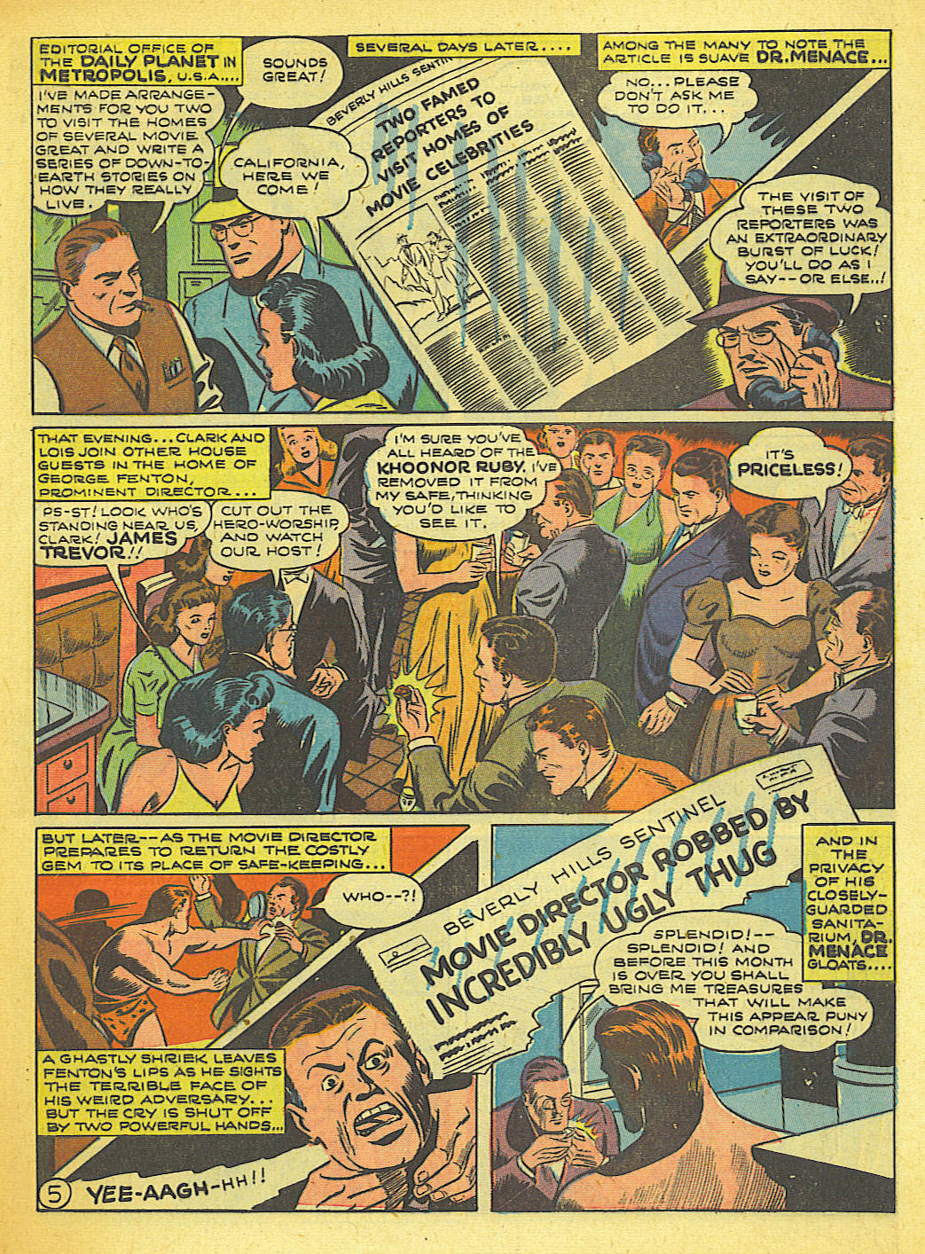 Read online Action Comics (1938) comic -  Issue #58 - 6