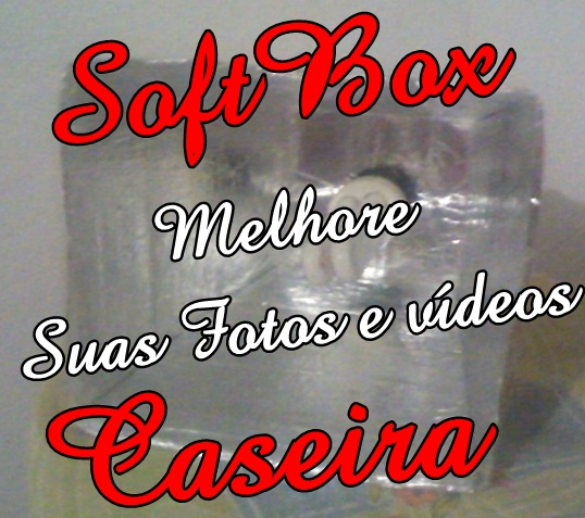 DIY- Softbox Caseira | Melhore seus vídeos e Fotos!