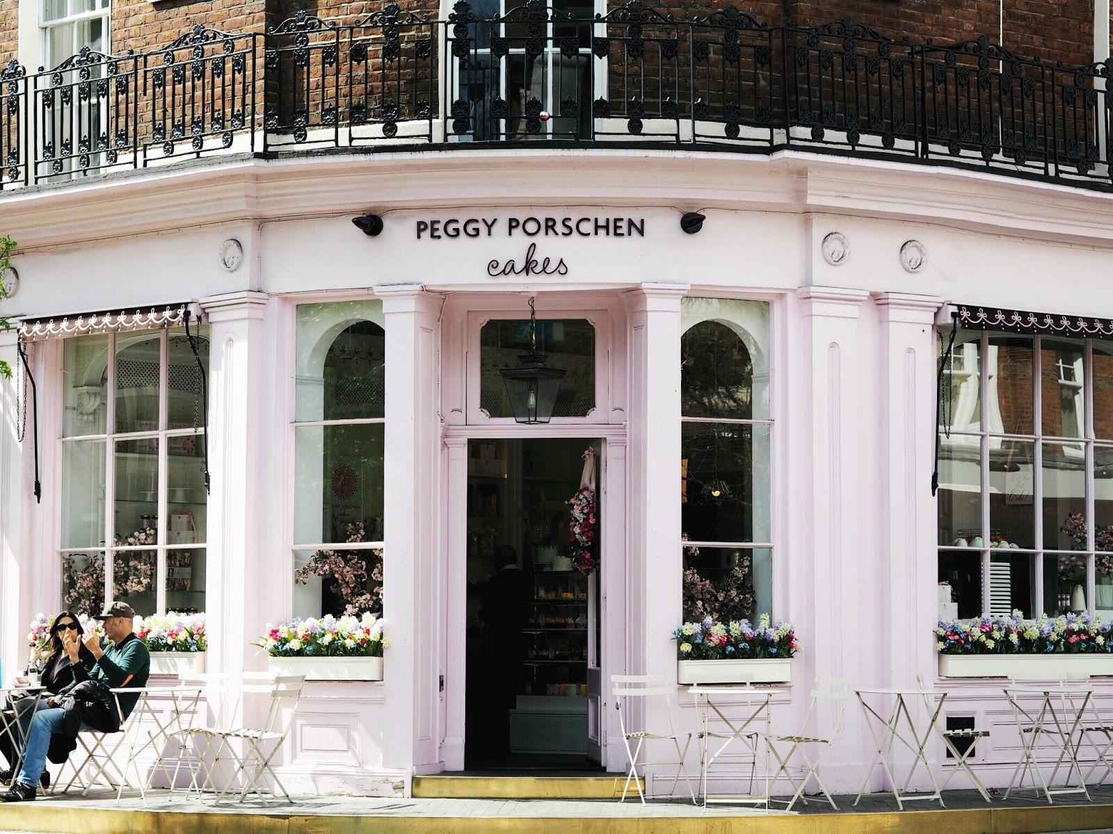 peggy porschen parlour london cakes cupcakes instagram bloggers pink cafe