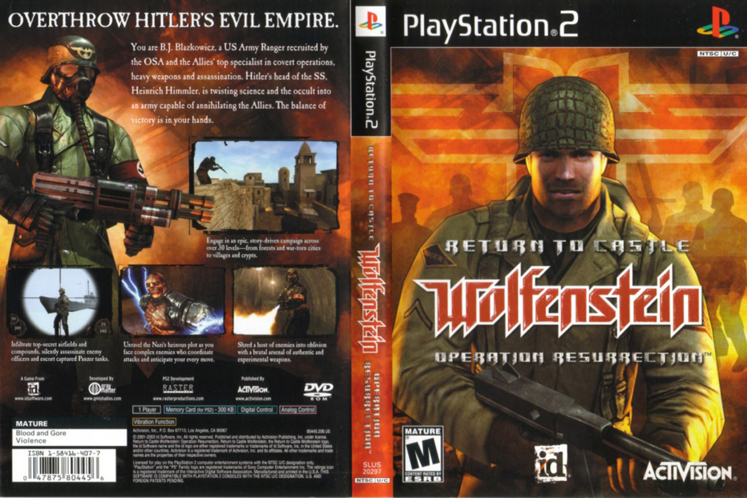 Return To Castle Wolfenstein iso