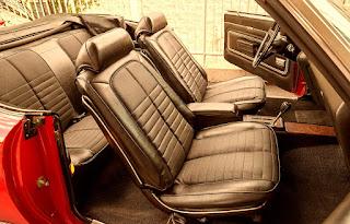 1971 Pontiac LeMans Sport Convertible Seat Front