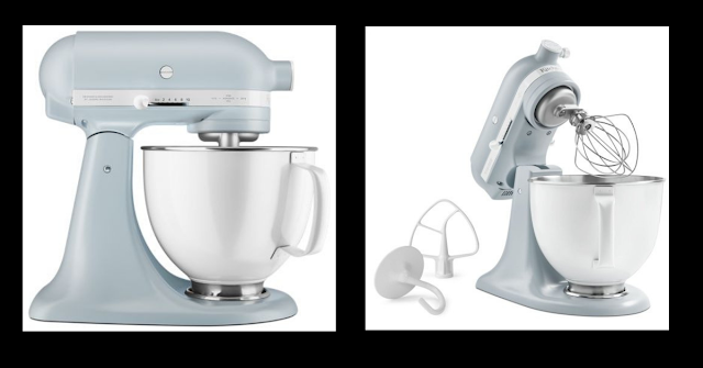 Win a FREE Limited Edition KitchenAid® Heritage Artisan® Misty Blue Stand Mixer!