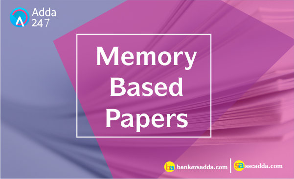 Memory Based Paper of IBPS Clerk Mains 2017: Quantitative Aptitude