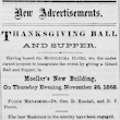 Indian Wars Dispirited Early Thanksgiving Celebrations