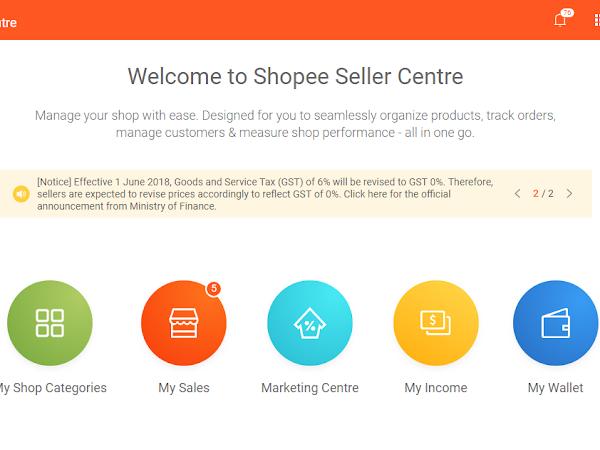 Cara Setkan Kedai Shopee kepada Vacation Mode!