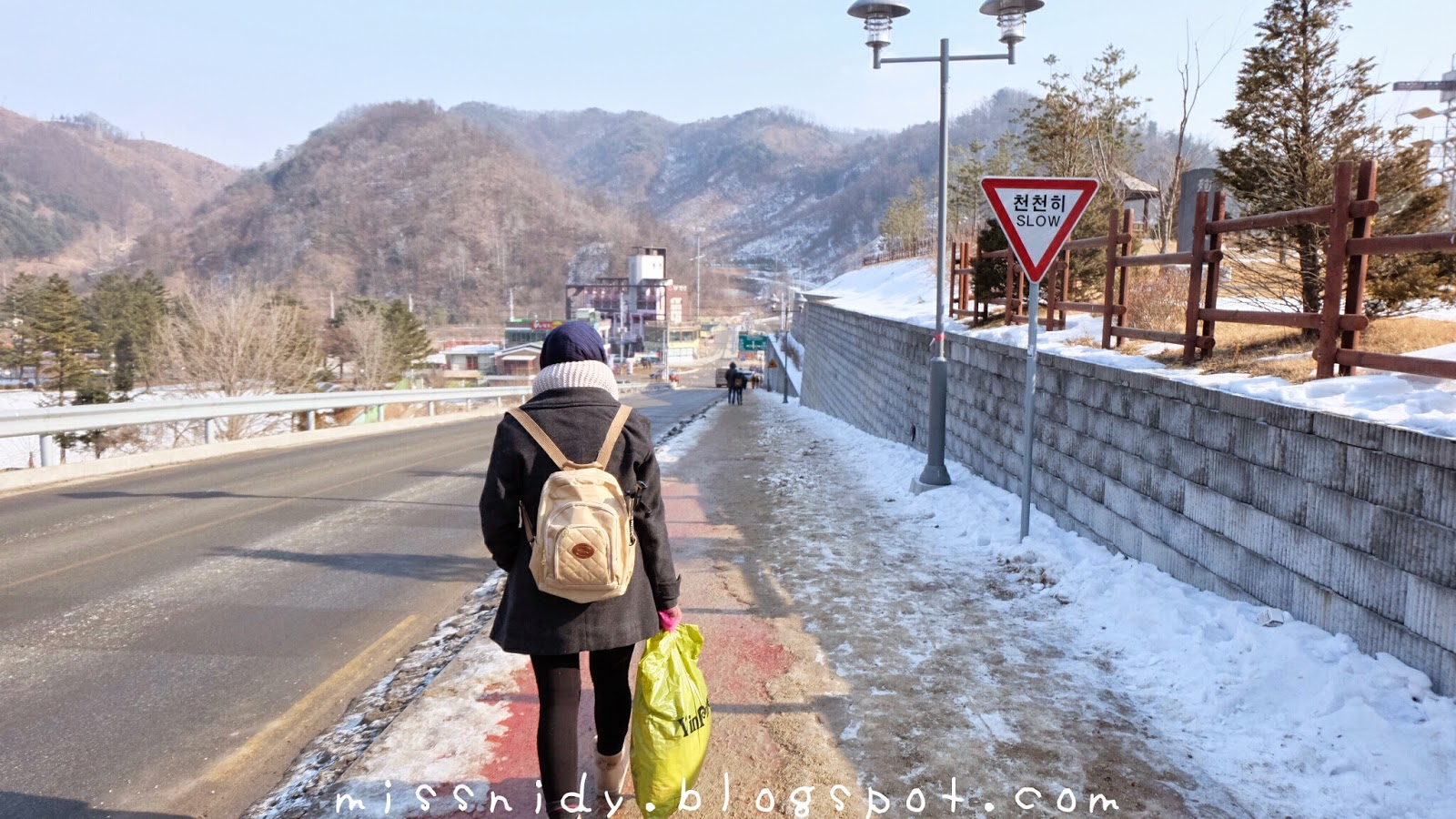 korean winter tourist spot