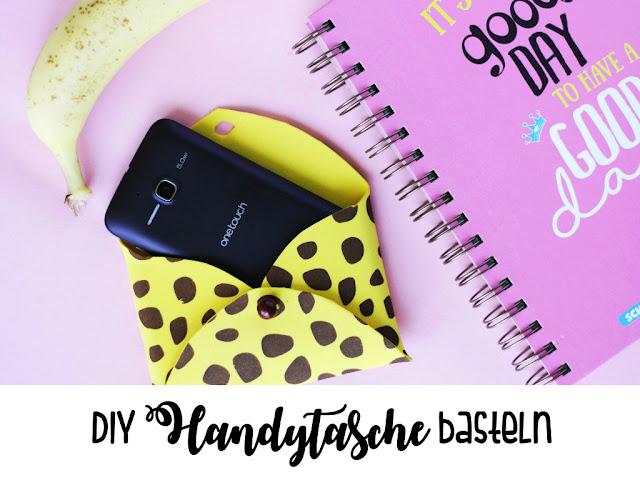 DIY-Projekt: Handytasche zum Selbermachen Somejoys