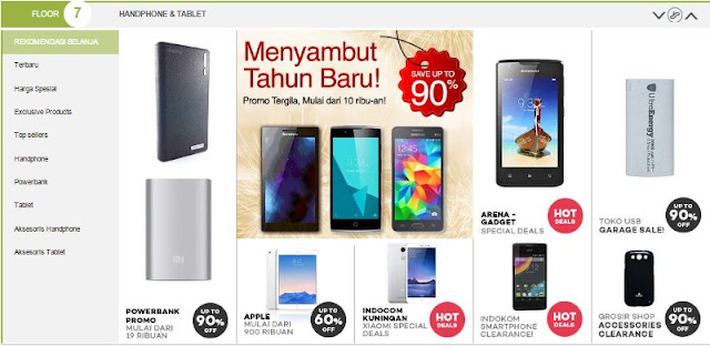 Belanja online di toko online lazada indonesia