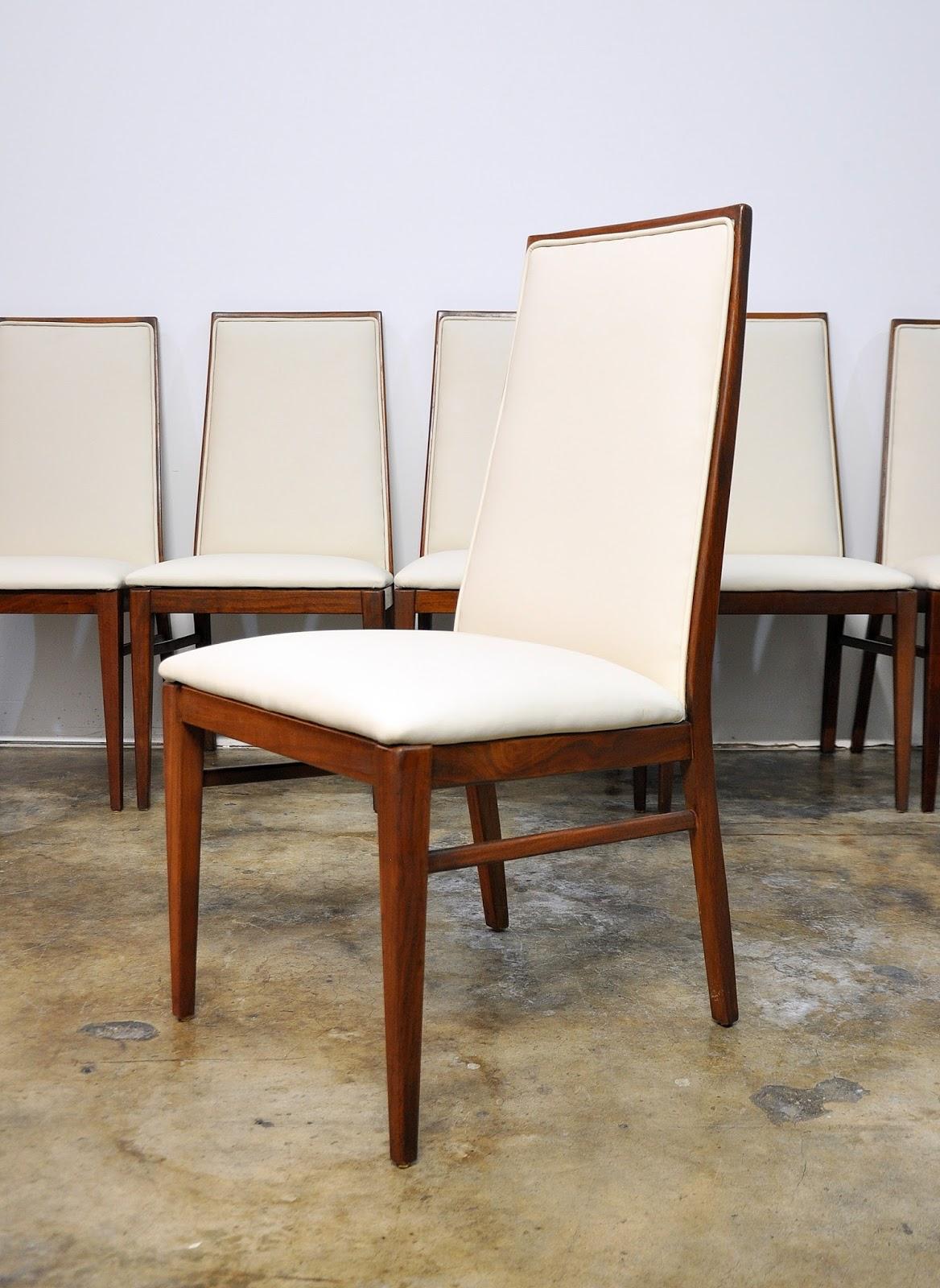 SELECT MODERN: Set of 6 Milo Baughman Dining Chairs