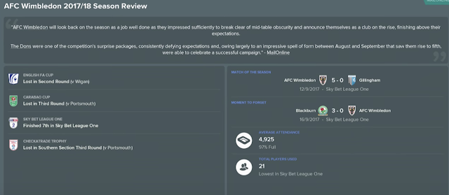 Football Manager 2018 presenta el mercado, cláusulas y rendimiento
