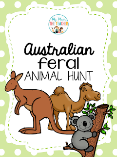 https://www.teacherspayteachers.com/Product/Australian-Feral-Animal-Hunt-Maths-Activity-221781