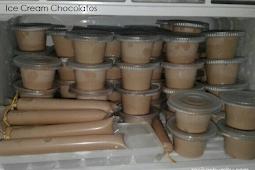 Resep dan cara buat Ice Cream Chocolatos untuk kulkas Rumah