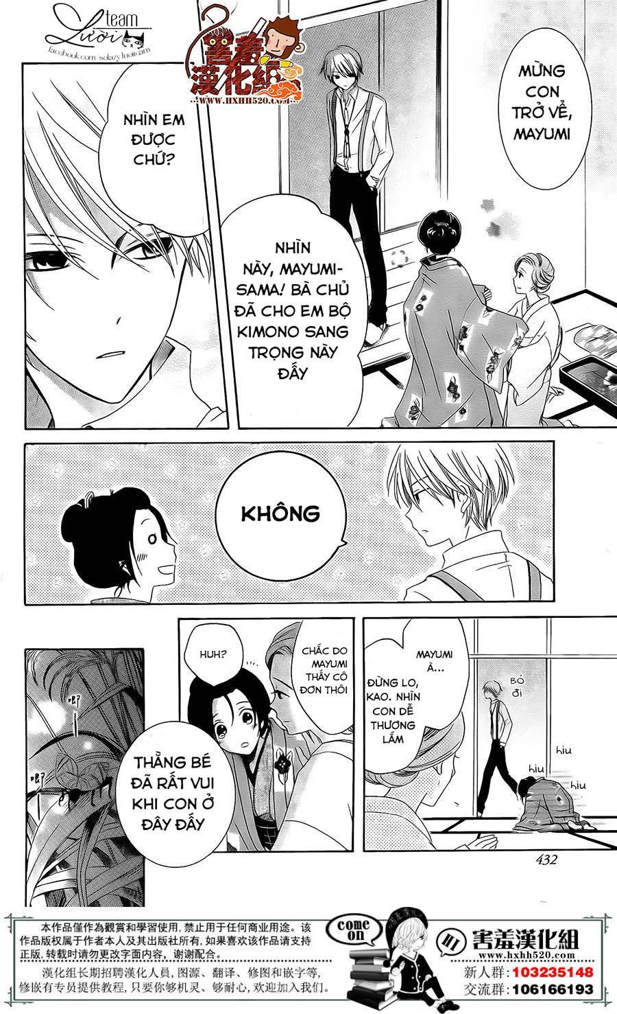 Haikei Mayumi-sama chap 3 - Trang 19