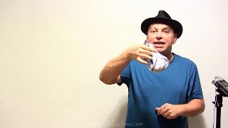 Manualidades y trucos con nudos en el pañuelo. Revelacion 10