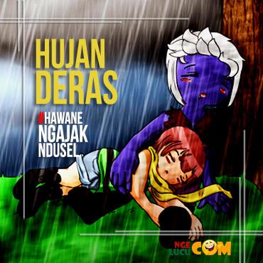 DP BBM Hujan Lebat