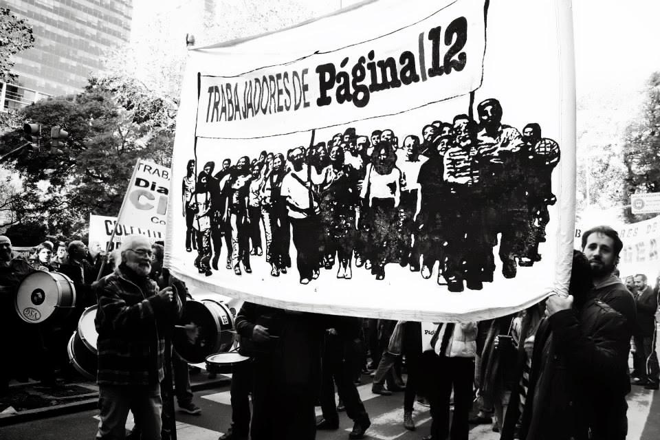Trabajadores de PáginaI12