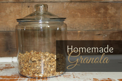 Homemade Granola Recipe-the best ever!!!