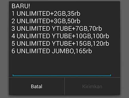 Cara Daftar Paket Unlimited Indosat Ooredoo IM3 | IM3 Mentari