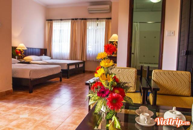 Phòng ngủ - Lotus resort Vũng Tàu