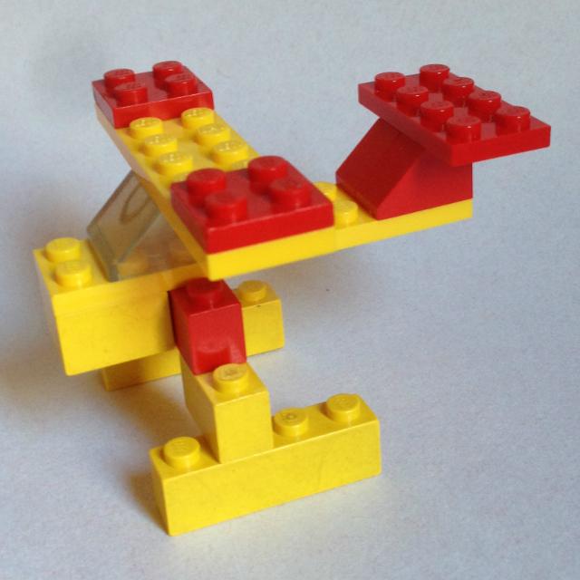 Lego 1606 -  hidroplán repülő