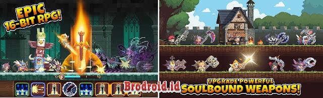 Download Crusaders Quest Mod Apk God Mode Terbaru