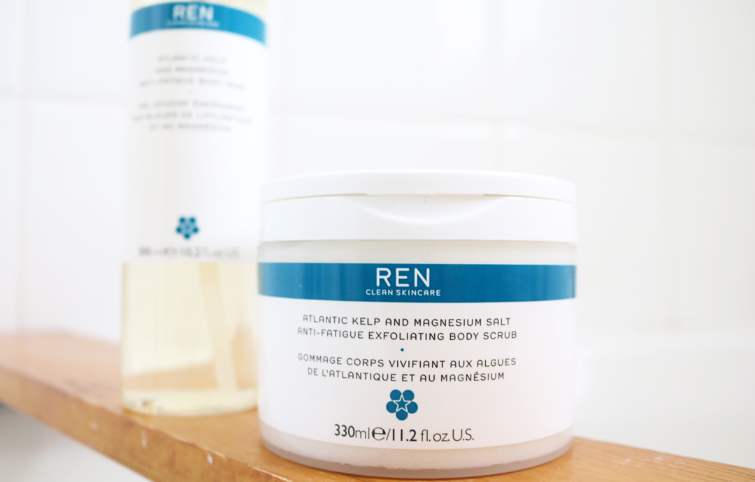 REN Atlantic Kelp and Magnesium Salt Anti-Fatigue Exfoliating Body Scrub review